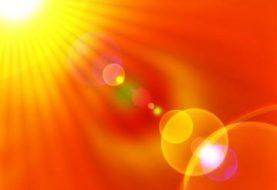 Skaudūs pavasarinės saulės bučiniai